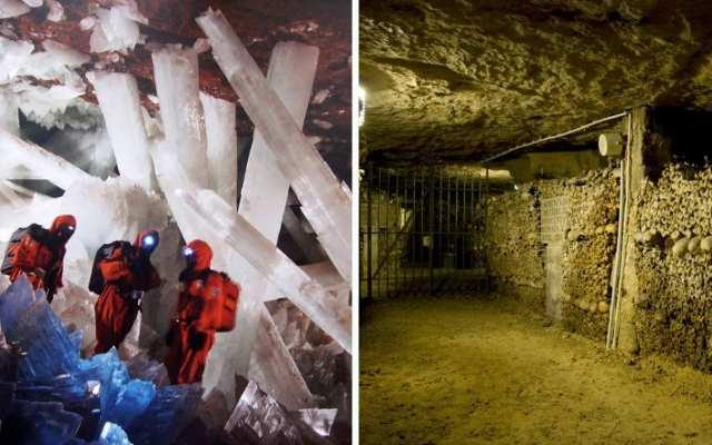 25 подземных чудес света, которые действительно поражают