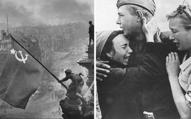 35 знаменитых фотографий Великой Отечественной войны