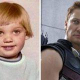 Фотографии «Мстителей» в детстве и сейчас