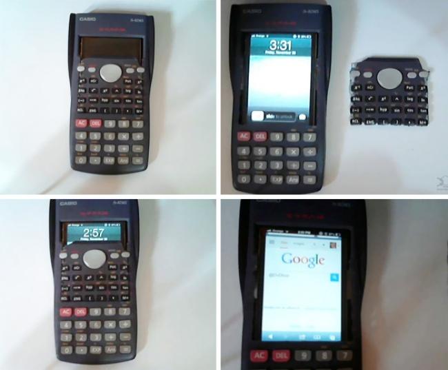 Маскировка телефона под калькулятор