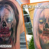 Примеры того, как со временем меняются татуировка