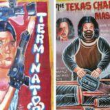 Самодельные Африканские постеры к Голливудским фильмам
