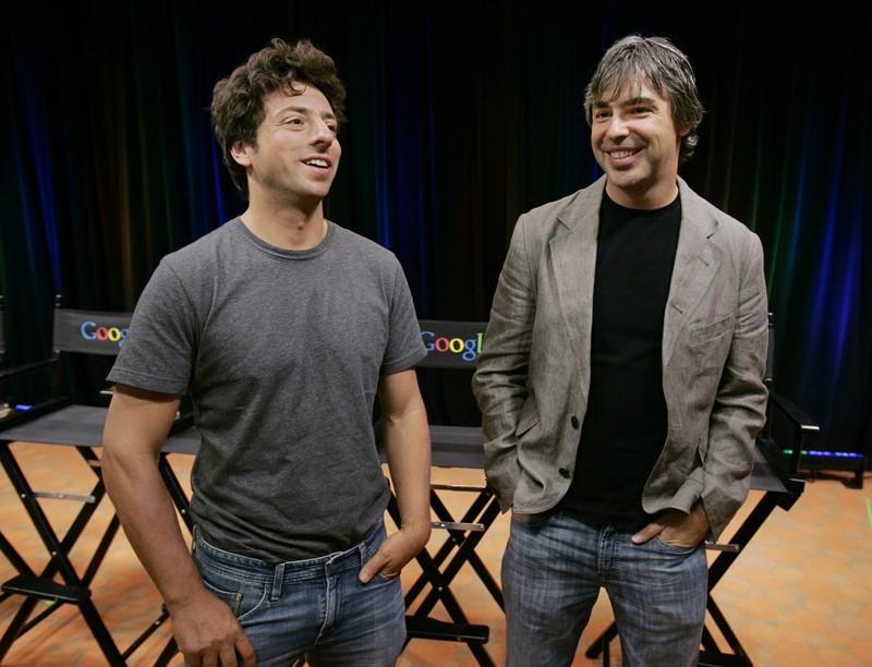 Google — Сергей Брин и Ларри Пейдж