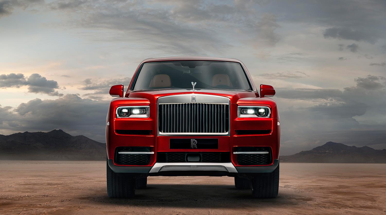 внедорожник Cillinan от Rolls-Royce