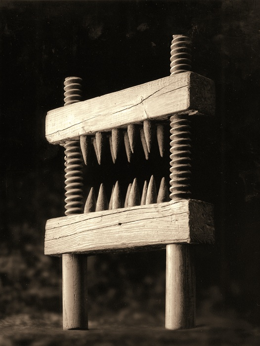 Устройство для дробления коленей.