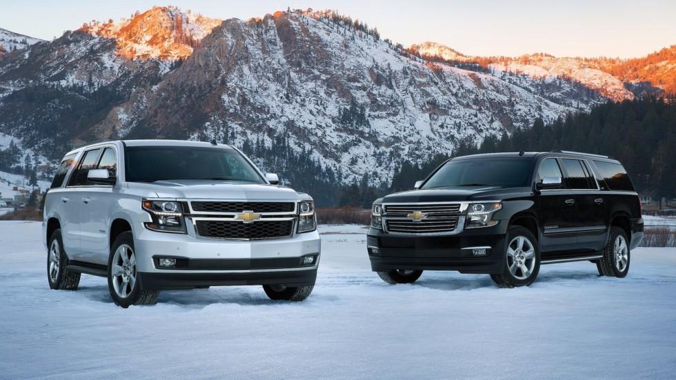 Chevrolet Tahoe '2014–н.в.