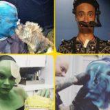 Интересныезакадровые фотографии со съемок фильмов Marvel