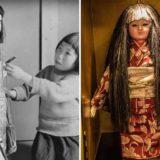 История Японской куклы Окику, у которой растут волосы
