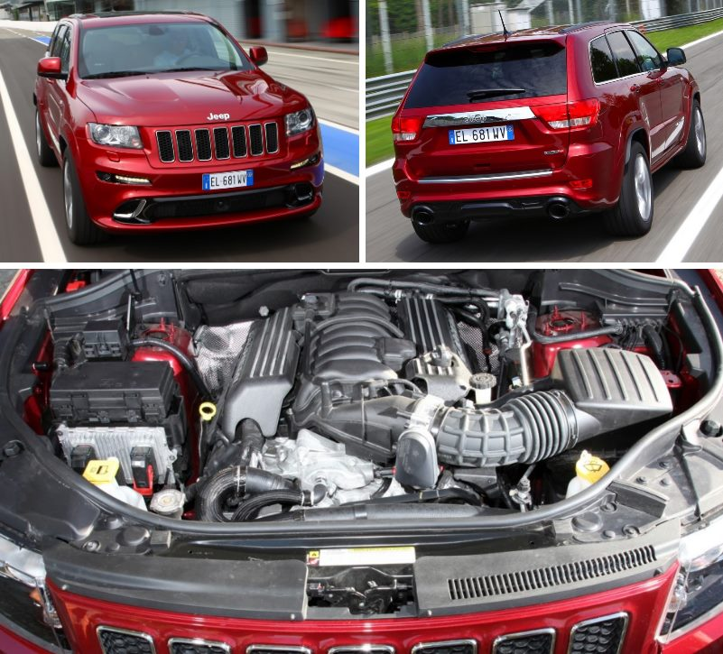 Под капотом Jeep Grand Cherokee SRT8 '2012–13