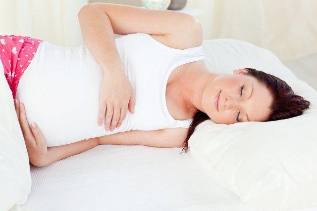 Оптимальная поза для беременных женщин