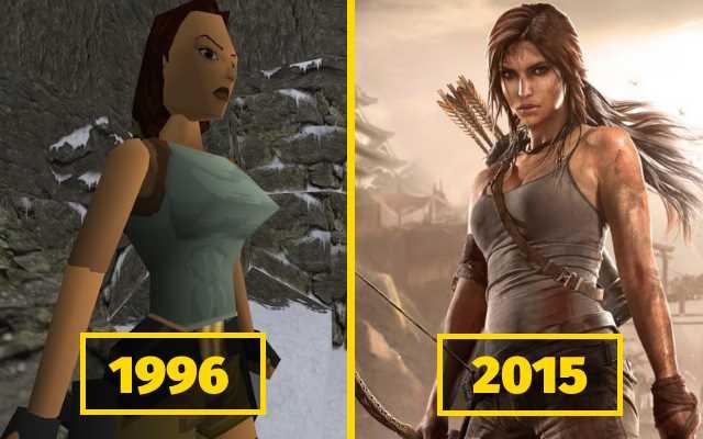 15 примеров того, как изменилось качество графики в известных компьютерных играх