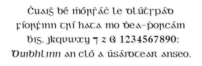 Гэльский язык