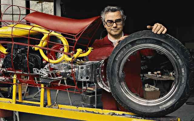 История создания колеса без центральной оси