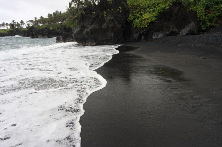 One'uli Beach, Мауи, Гавайи, США