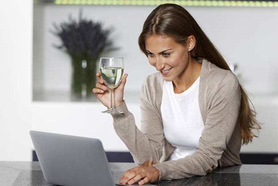 Онлайн шоппинг и алкоголь