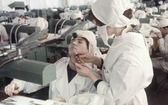 Советская медицина в фактах и фотографиях