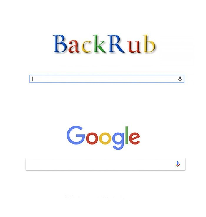Google мог называться Backrub