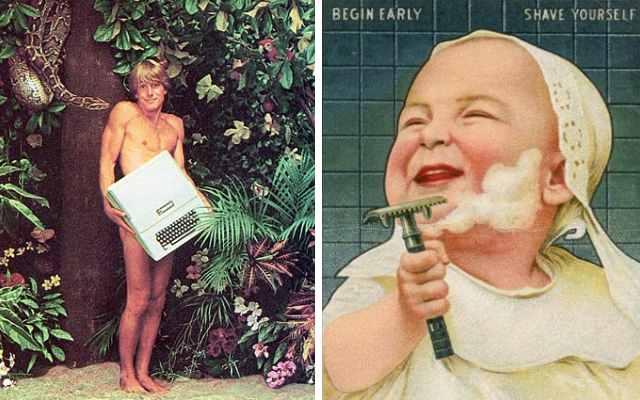 Какой была реклама известных брендов впрошлом веке