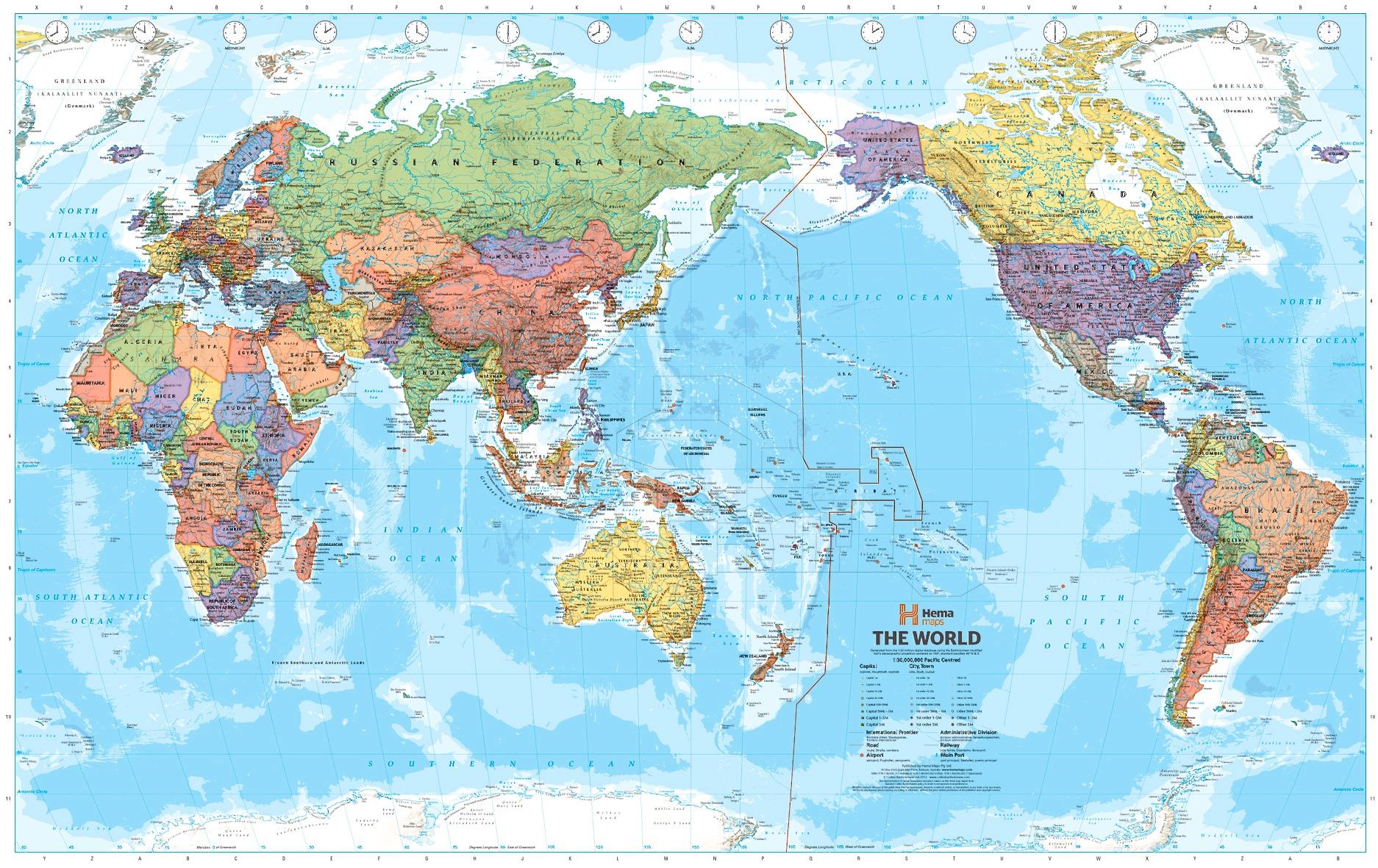 Карта мира глазами Китая