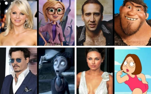 Кто из знаменитых людей озвучивал персонажей мультфильмов