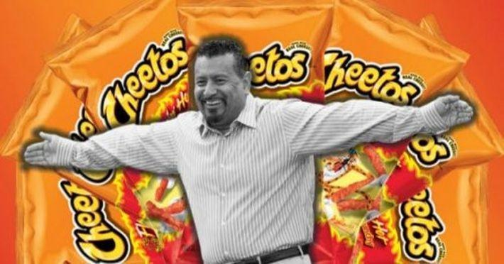 Чипсы Flamin' Hot Cheetos