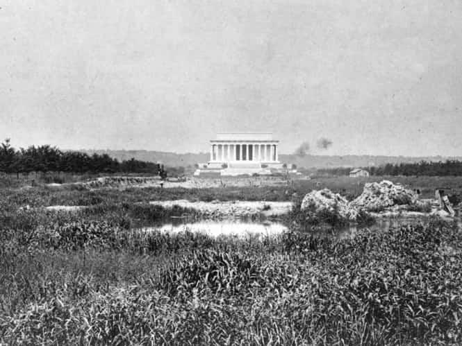 Мемориал Линкольна. В 1917 году