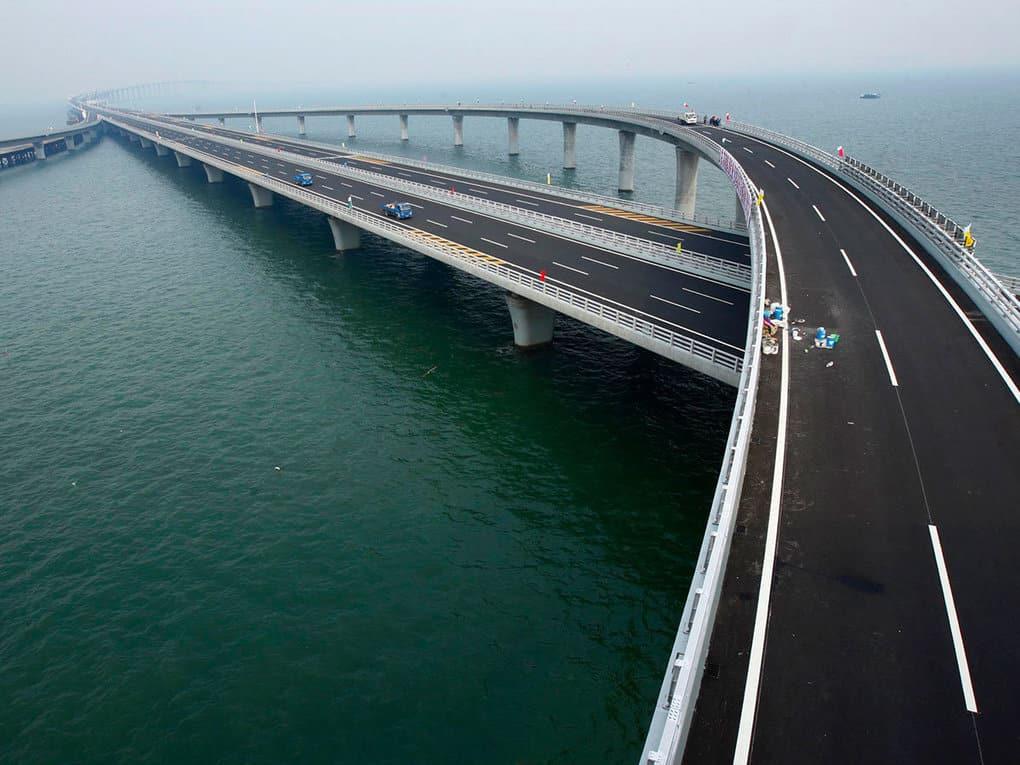 5. Мост через Вэй (Китай), 80 км
