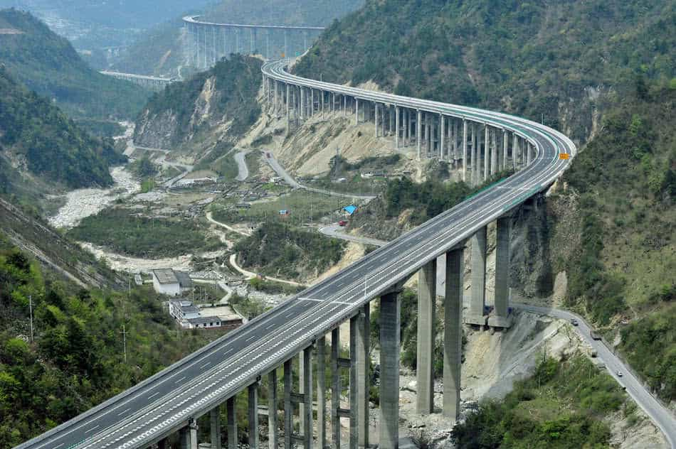 8. Пекинский виадук (Китай), 48 км