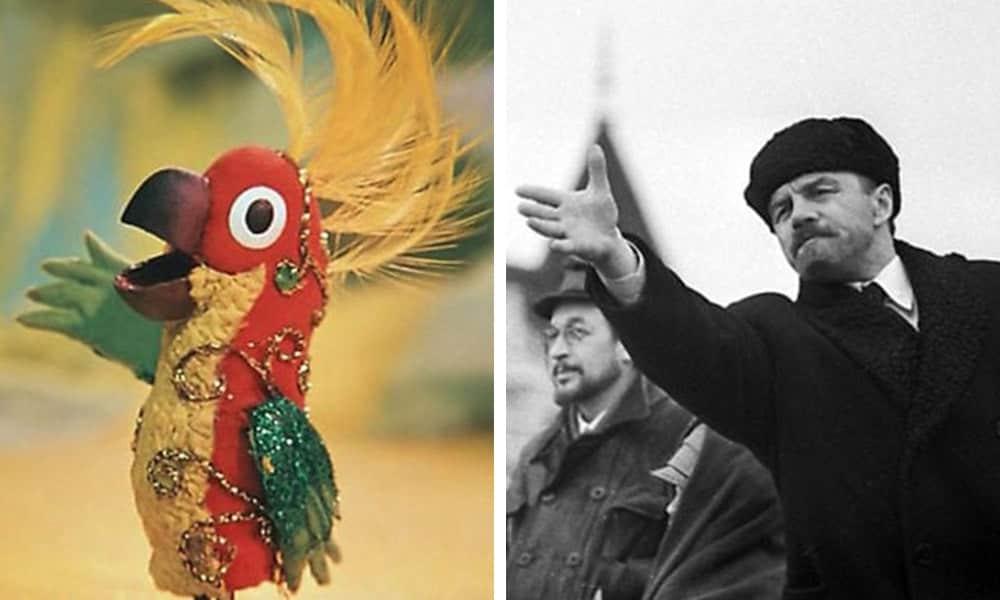 Попугай из «38 попугаев» (Владимир Ильич Ленин)