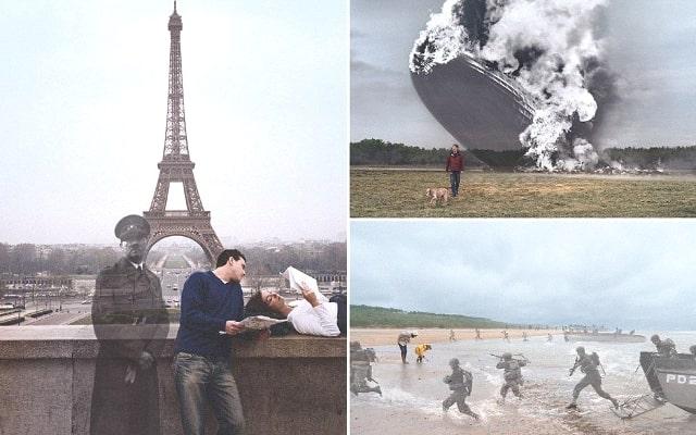 Серия фотографий «Знай, где ты стоишь»