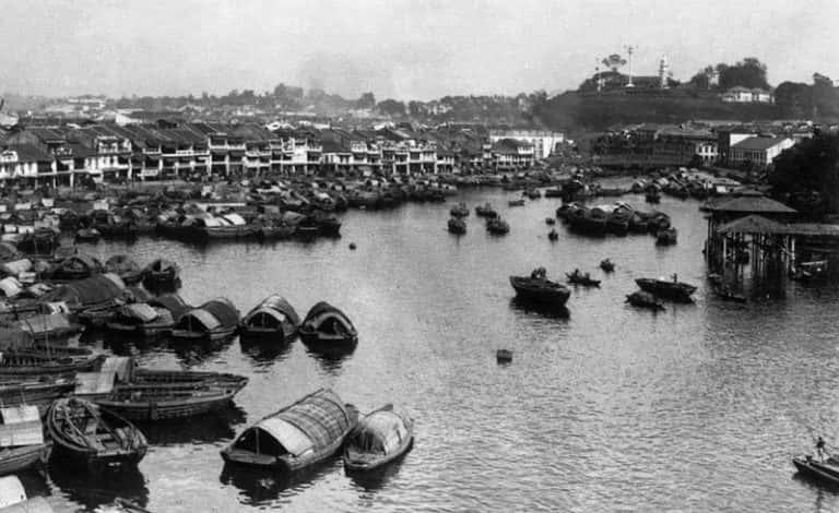 Город Сингапур (Республика Сингапур),1900 год