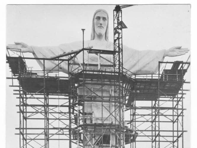 Статуя Христа Искупителя. В 1924 году