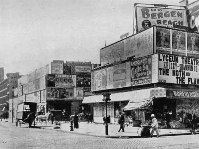 Таймс-сквер. В 1898 году