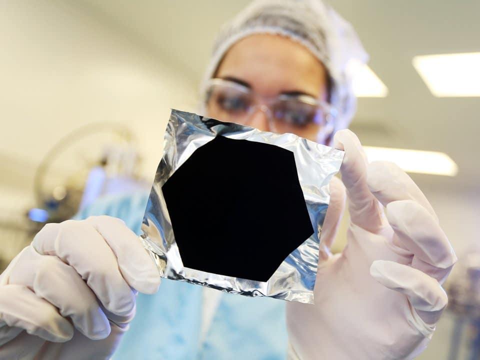 Vantablack — самое темное вещество во Вселенной