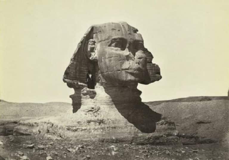 Великий Сфинкс Гизы (Египет), в 1798 году...