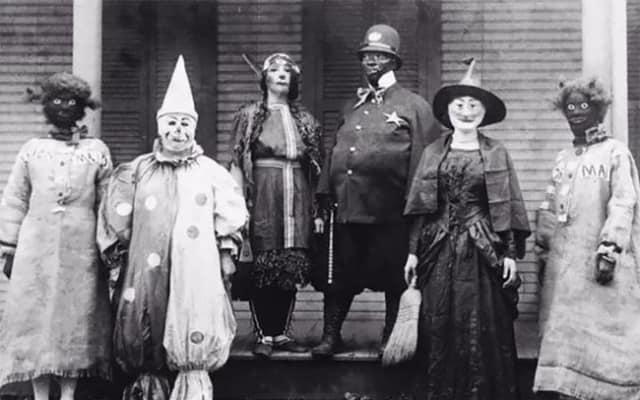 Жуткие, старинные фотографии с Хэллоуина