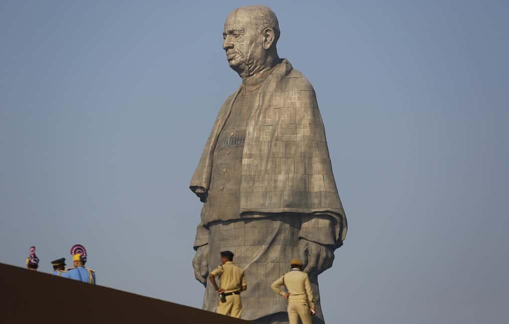 самая высокая в мире статуя