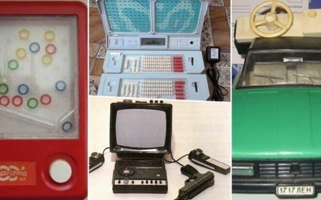 20 крутых игрушек времен СССР