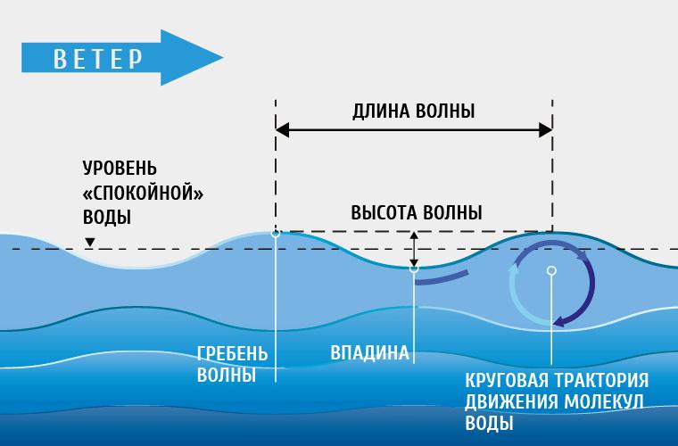 Откуда берутся волны в океане