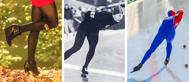Колготки и конькобежный спорт