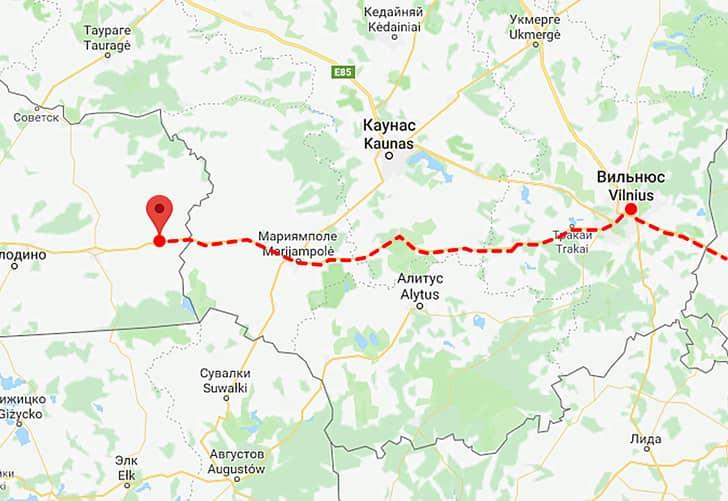 На «Нестеровском поезде» можно доехать до Европы