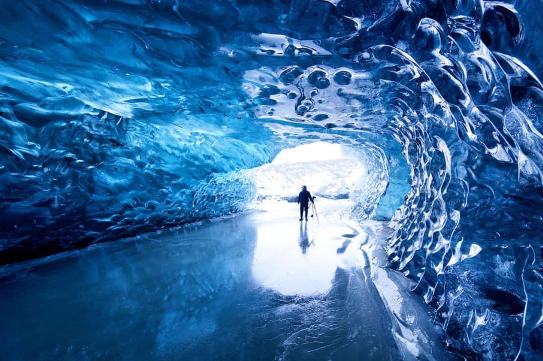 Пещера Скафтафелл, Исландия