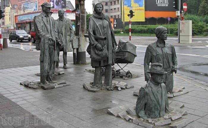 Скульптурная группа «Переход 1977–2005