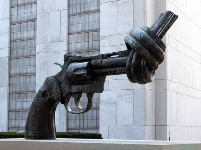 Завязанный узлом пистолет