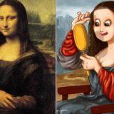 «за кадром» во время создания знаменитых картин