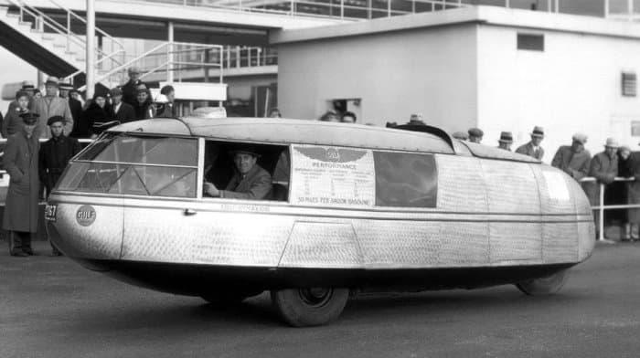10. «Dymaxion car»