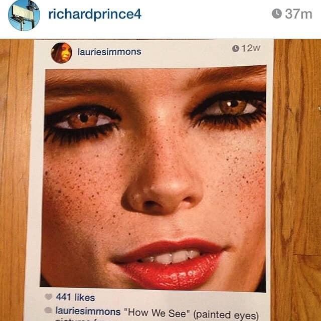 Скриншоты из Instagram