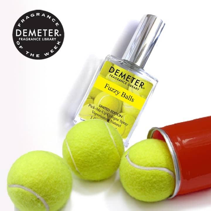 Парфюм с ароматом теннисного мячика и прачечной
