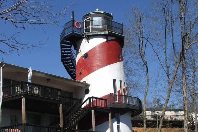 Дом-маяк в Америке