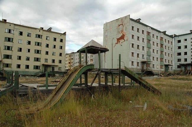 город-призрак в России
